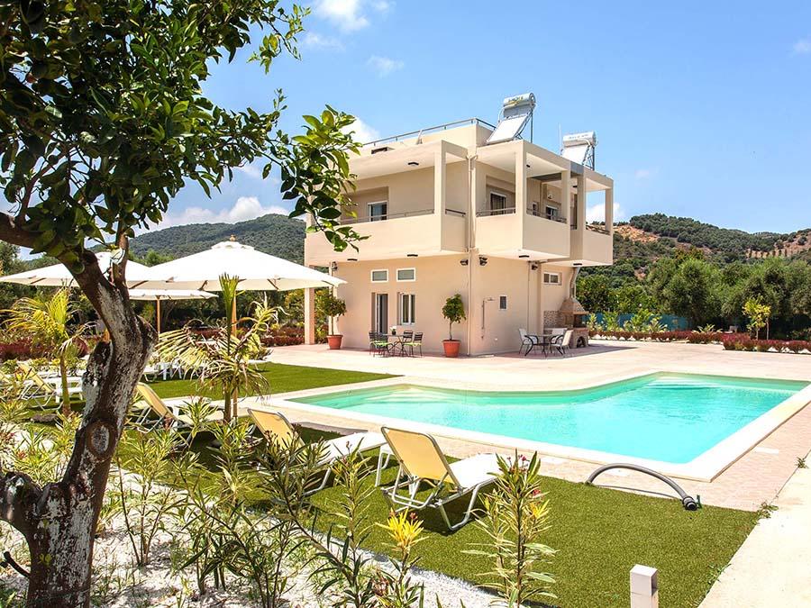 safe chania villas with pools-platanias-exterior_02-green-orange-villa